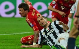 Chiellini & Mandzukic - Juventus-Bayern