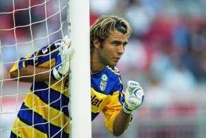 Sebastien Frey Parma Barcelona Friendly 2002