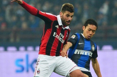 Yuto Nagatomo -Inter in Milan derby