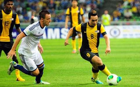 Malaysia vs Chelsea - John Terry - Norshahrul Idlan Talaha