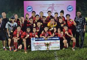 Young Women FAS Women's Challenge Cup 12012013