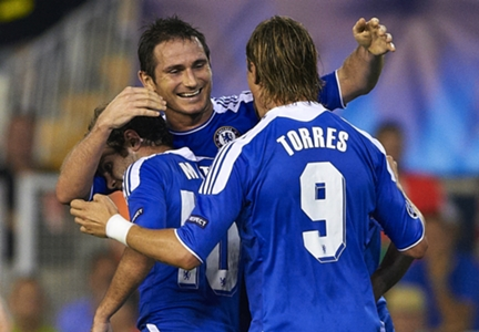 Lampard congratulates Torres on 'huge' career moments