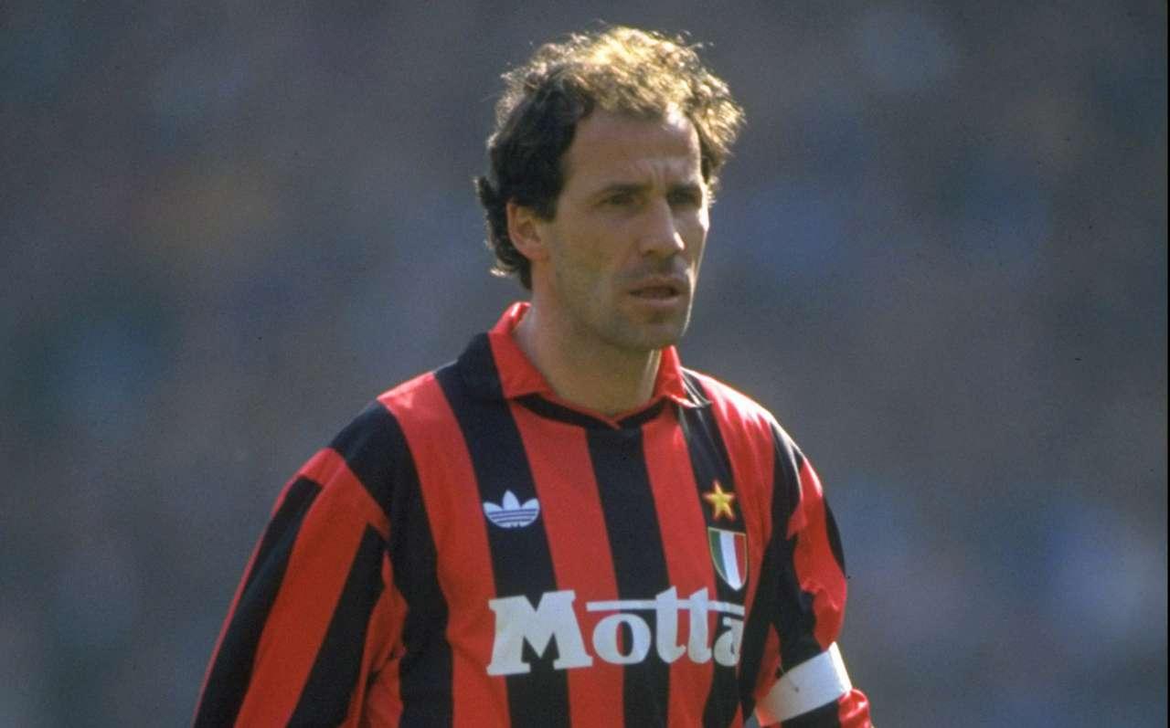 Portrait of Franco Baresi of AC Milan 1993