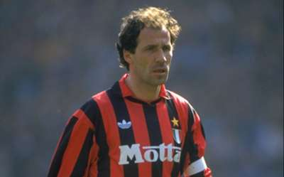Portrait of Franco Baresi of AC Milan 1993