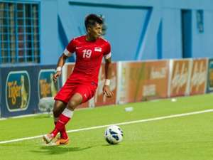 Khairul Amri Singapore Jordan 2015 AFC Asian Cup qualifiers 04022014