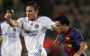 Frank Lampard,Chelsea:Xavi,Barcelona