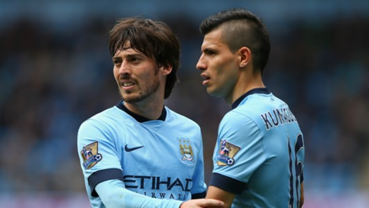 David Silva; Sergio Aguero Manchester City