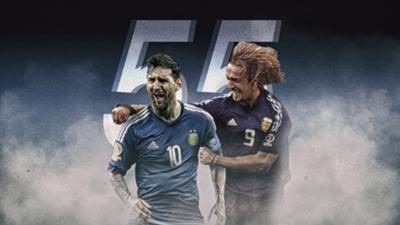 Lionel Messi Argentina Record