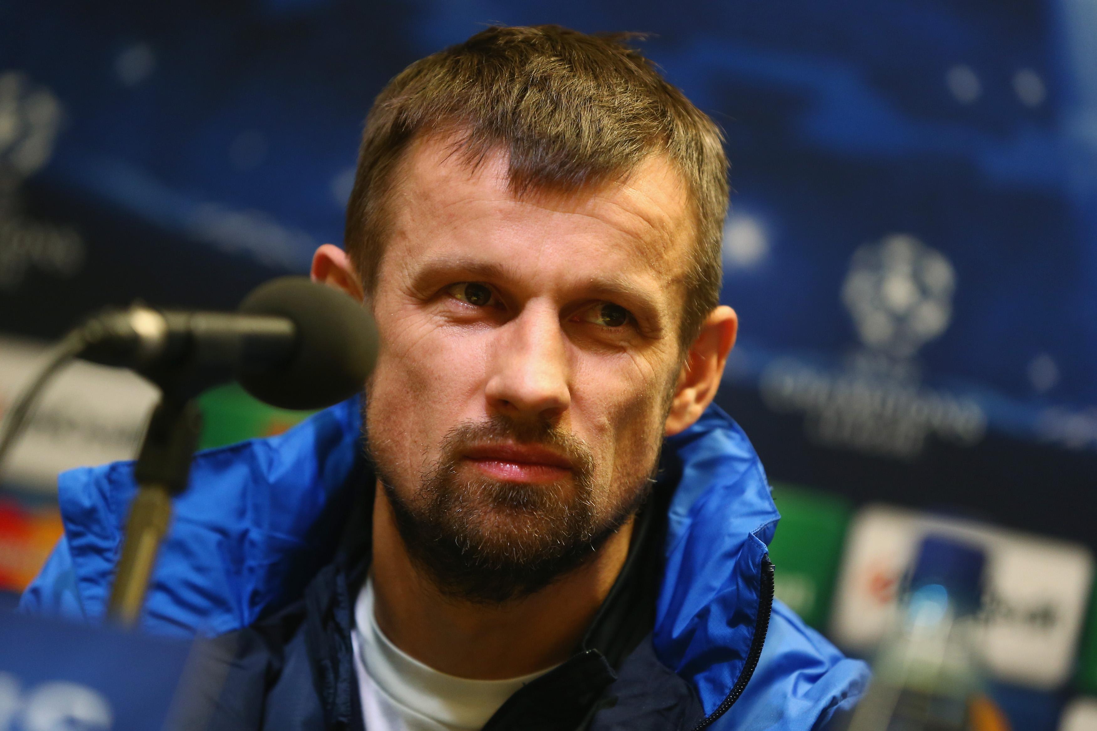Zenit caretaker coach Sergei Semak.