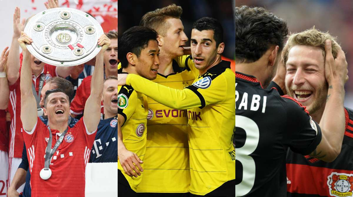 Champions League 2016-17 group stage | Germany