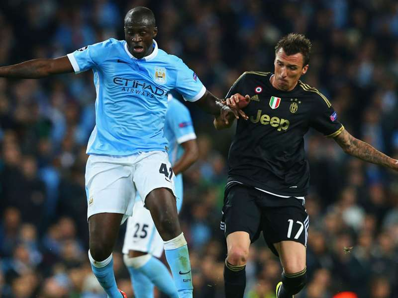 Yaya Toure: Juventus were lucky to beat Manchester City ...