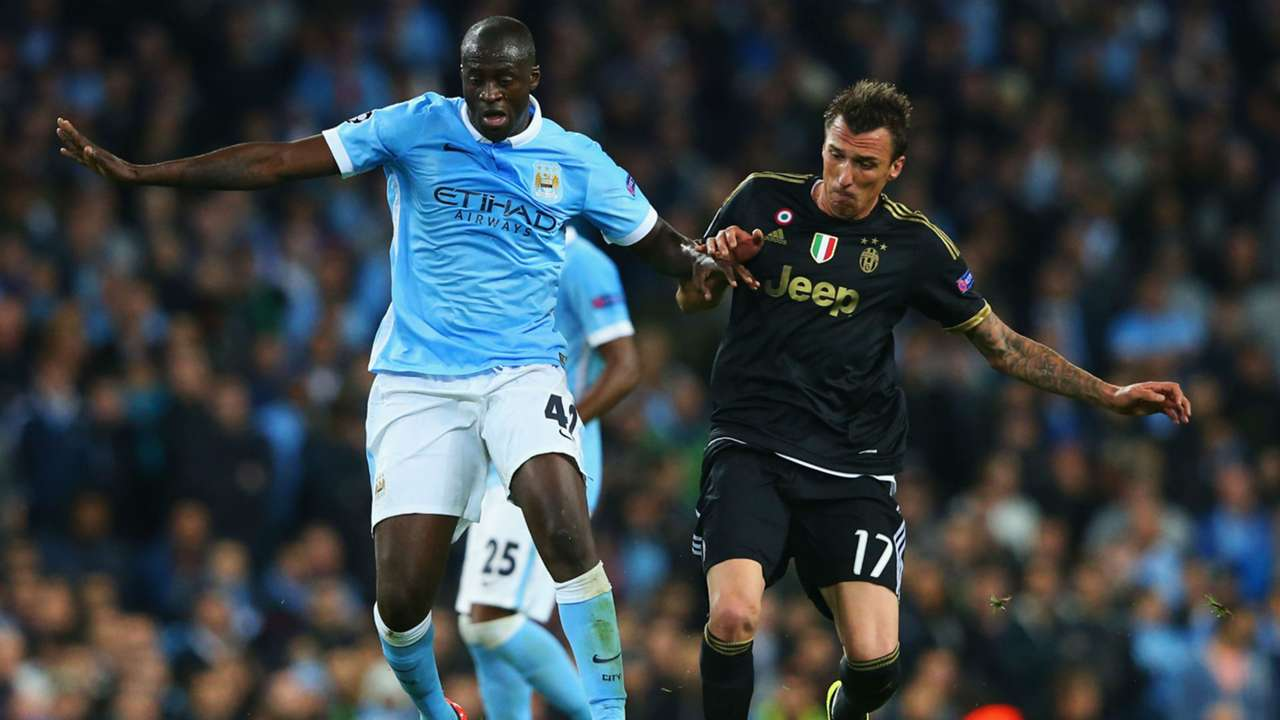 Yaya Toure Champions League Manchester City v Juventus 150915