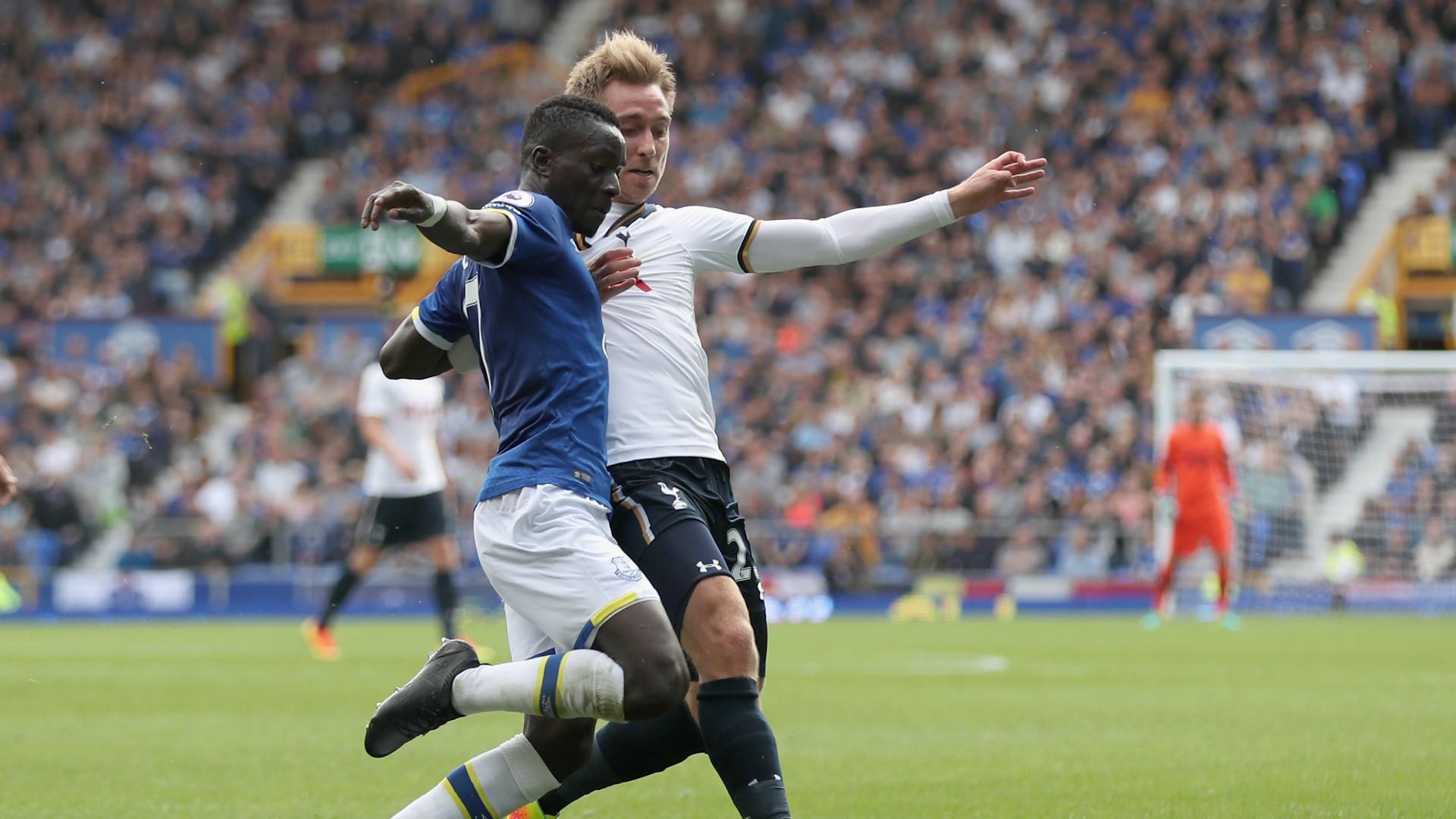 HD Idrissa Gana Gueye Christian Eriksen Everton Tottenham