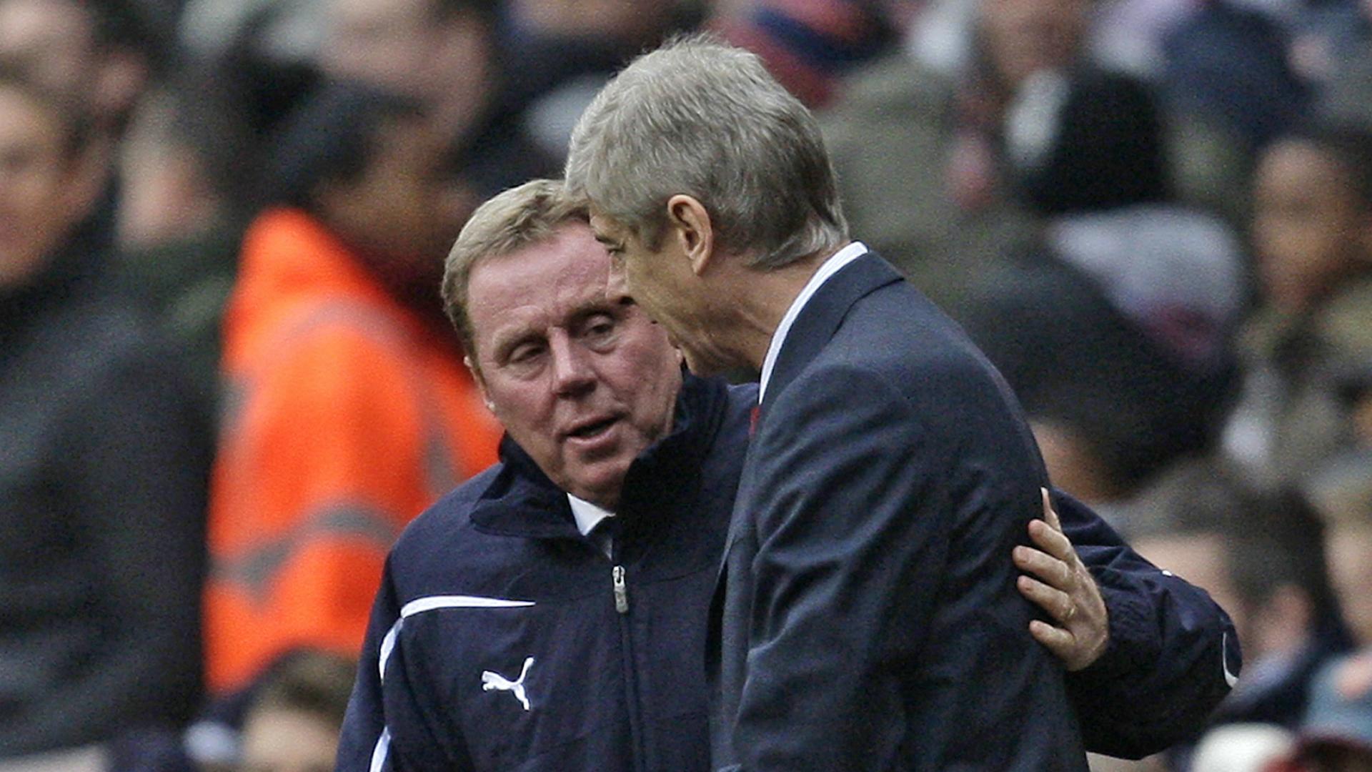 Harry Redknapp, Arsene Wenger, Tottenham