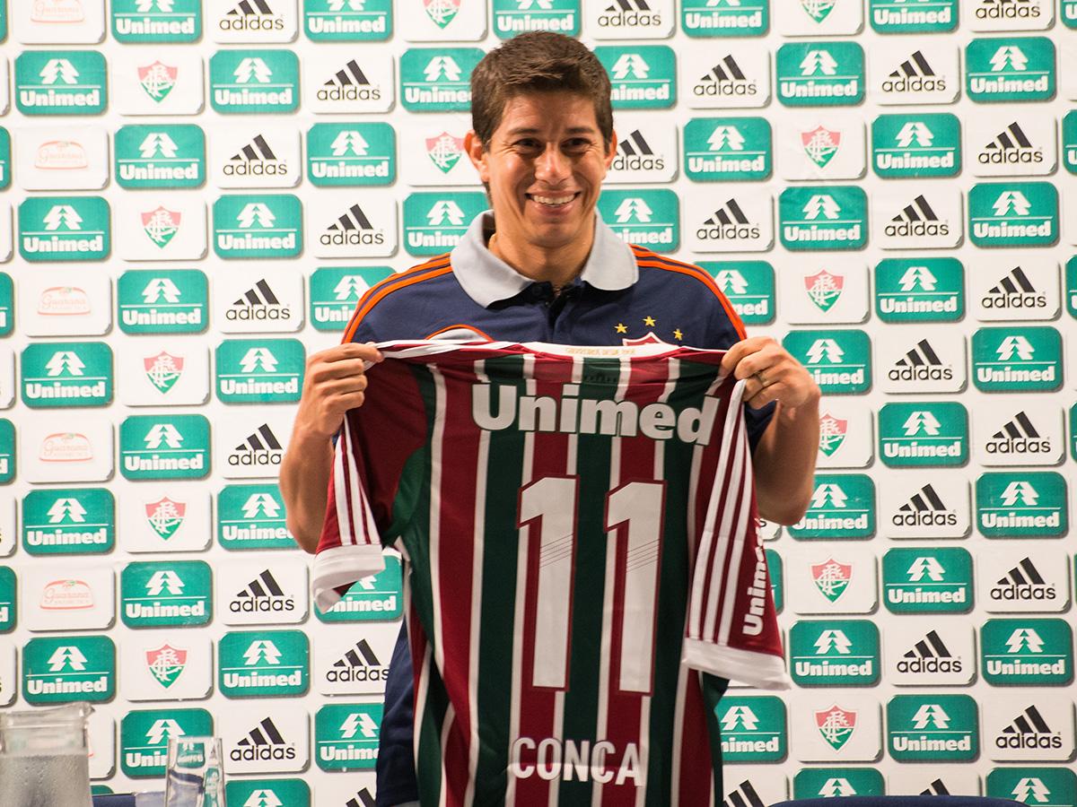 Dario Conca - Fluminense 01082014