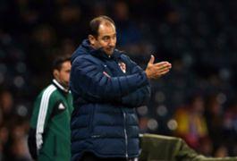 Croatia manager Igor Stimac