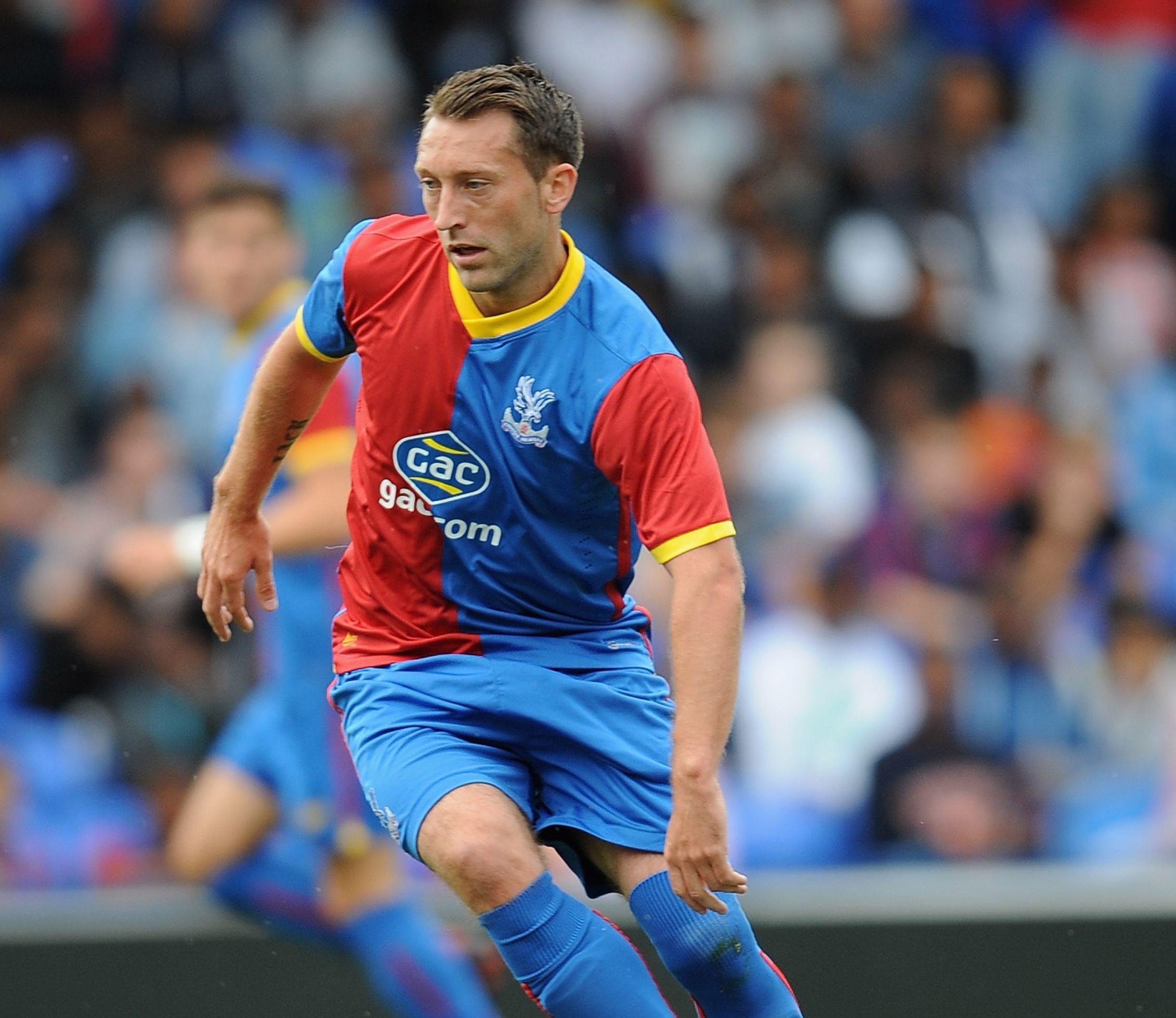 Crystal Palace forward Stephen Dobbie