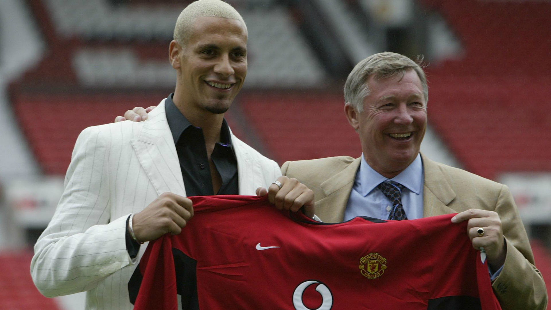 Rio Ferdinand Manchester United 2002
