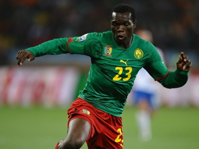 Vincent Aboubakar Cameroon Netherlands World Cup 2010 06242010