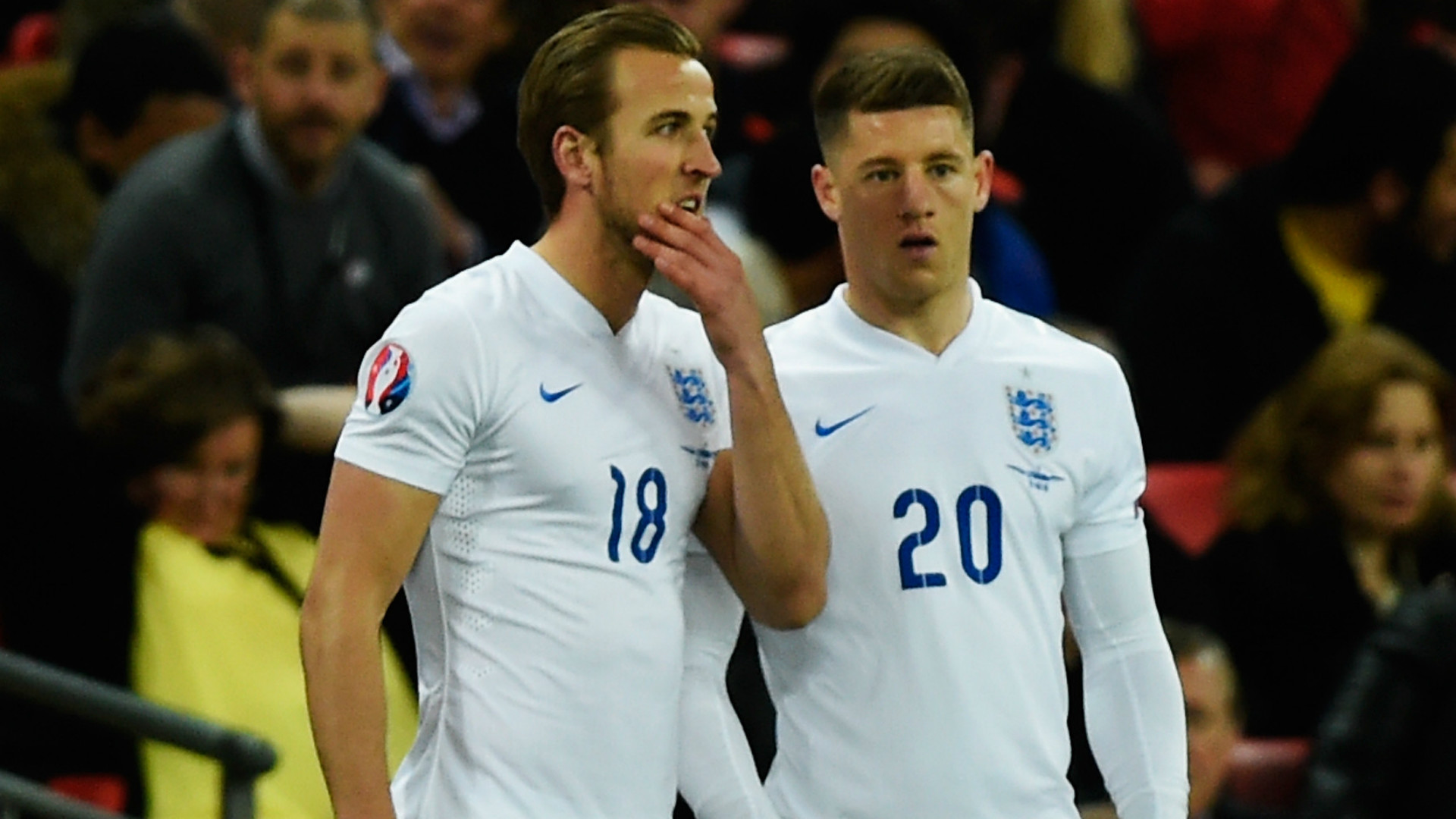 Harry Kane Ross Barkley England Lithuania Euro 2016 qualifier 27032015