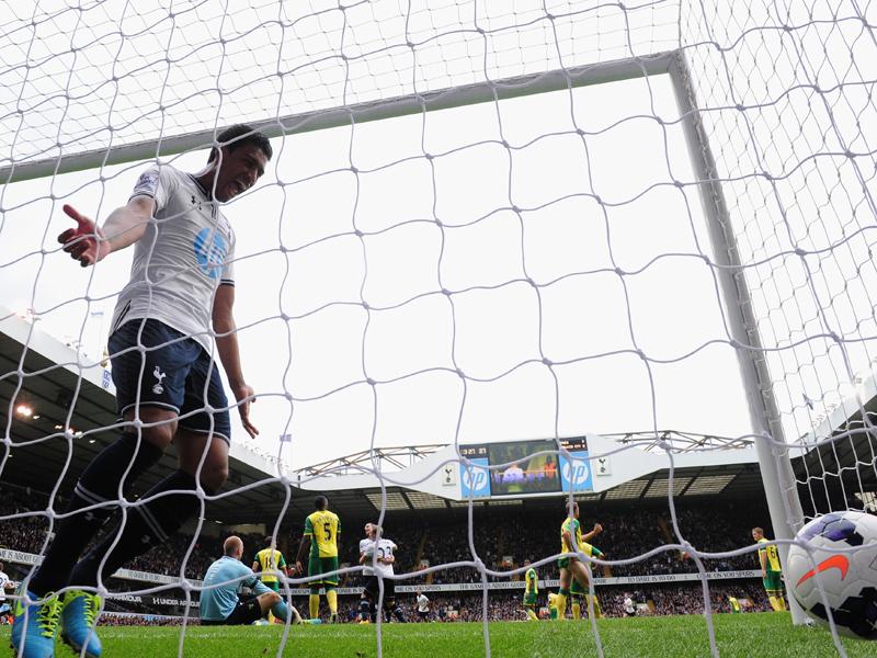 EPLTottenham Hotspur v Norwich City, Paulinho
