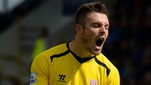 Jack Butland Premier League Stoke v Burnley 160515