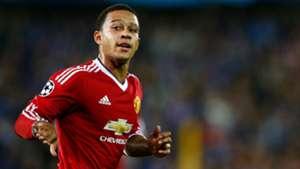 Memphis Depay Manchester United Champions League