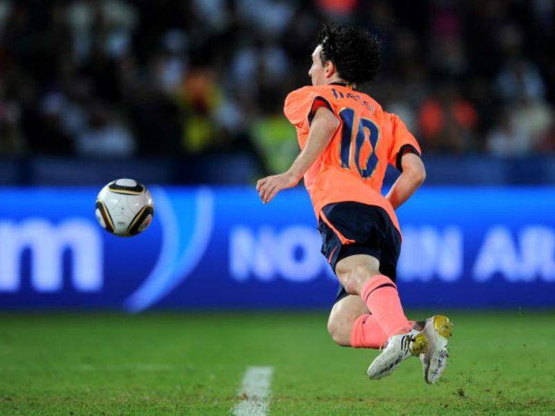 Messi a Estudiantes
