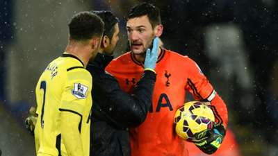 Hugo Lloris Leicester Tottenham Premier League