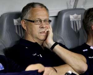 Iceland coach Lars Lagerback