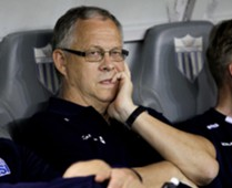Iceland coach Lars Lagerback
