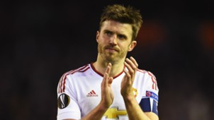 Michael Carrick Europa League Liverpool v Manchester United 100316