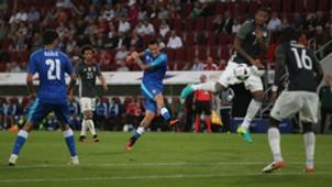 Marek Hamsik of Slovakia scores versus Germany