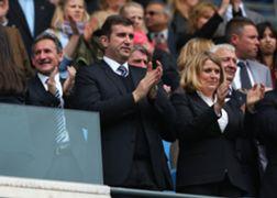 Txiki Begiristain the Director of Football at Manchester City, Ferran Soriano the CEO