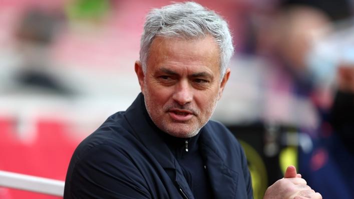 New Roma head coach Jose Mourinho