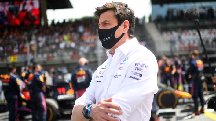 Mercedes team boss Toto Wolff