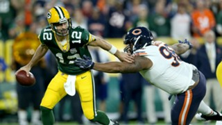 Aaron Rodgers Green Bay Packers vs Chicago Bears 09092018