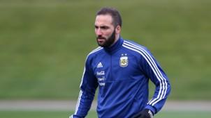 Higuaín Argentina Training Session 20032018