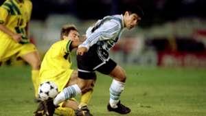 Diego Maradona Argentina v Australia 17111993