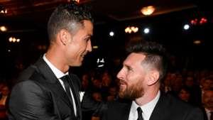 Ronaldo Cristiano Messi 23102017