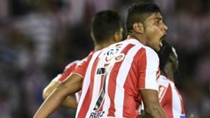 Luis Ruiz Junior v Olimpia Copa Libertadores Fase 3 08022018