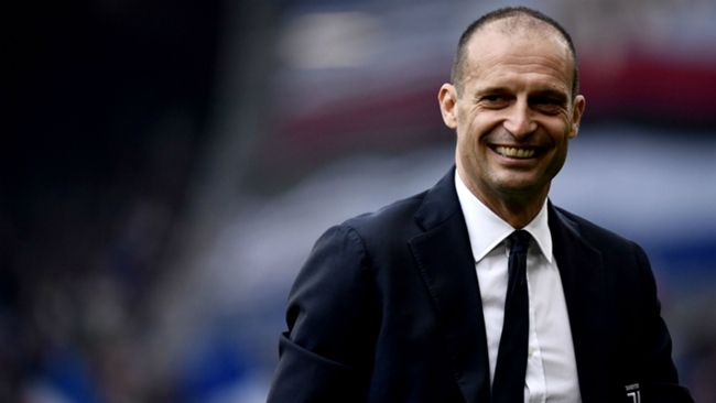 Juventus coasted to victory against Malmo in Massimiliano Allegri's first Champions League game back in his second spell
