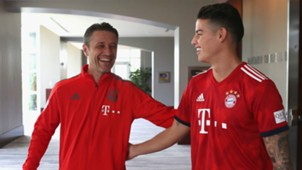 James Rodriguez FC Bayern AUDI Summer Tour Day 6 28072018