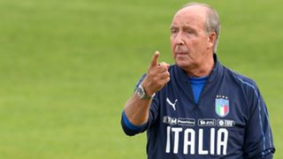 Giampiero Ventura Italy Training Session And Press Conference 03102017