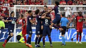 PSG v Les Herbers Coupe de France 08052018