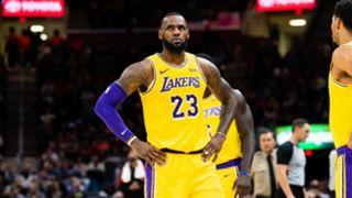 LeBron James Lakers vs Cleveland Cavaliers  NBA 21112018