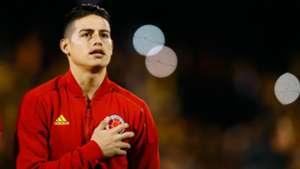James Rodriguez Australia v Colombia International Friendly 27032018