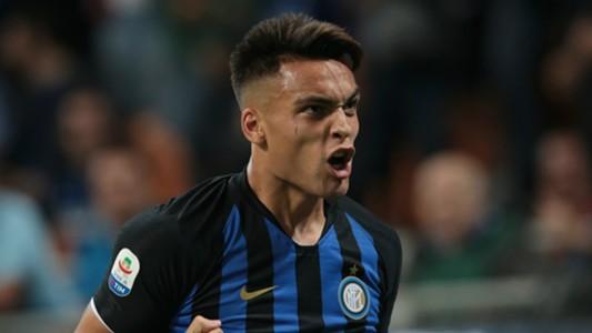 Lautaro Martínez Inter v Cagliari 29092018