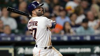 Jose Altuve Texas Rangers v Houston Astros MLB regular season 18092019
