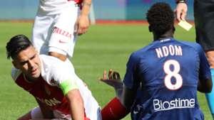 Radamel Falcao Monaco v Caen Ligue 1 03312019